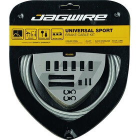 Jagwire Sport Universal Brake Cable Set for Shimano/SRAM, sterling silver